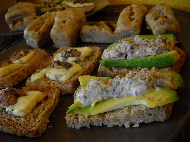 apéro dinatoire végétarien