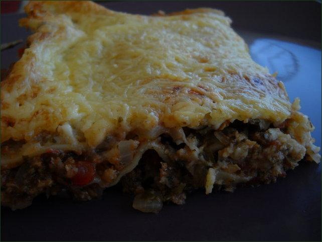Lasagnes légumes et soja