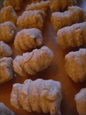 Gnocchis d'okara