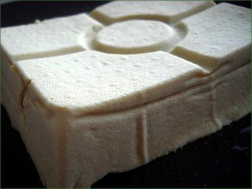 tofu maison avec 1L de lait de soja de soyabella