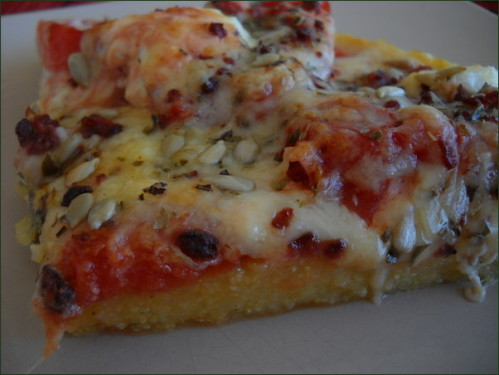 pizza sans gluten tomate chèvre