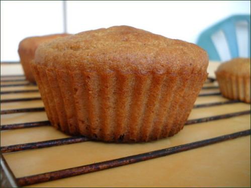 Muffins à l'okara au miel