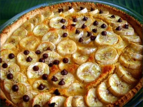 photo Tarte amandine aux bananes vegecarib872