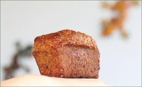 Mini-cakes à la banane coeur de chocolat vegecarib957