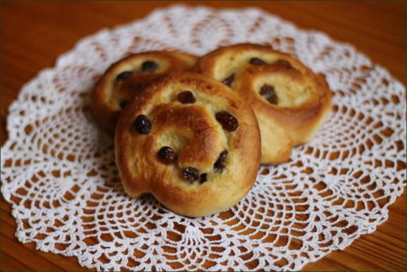 Pains aux raisins briochés vegecarib1036