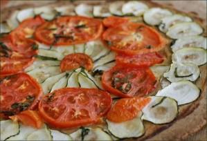Tarte aux légumes du soleil vegecarib1091