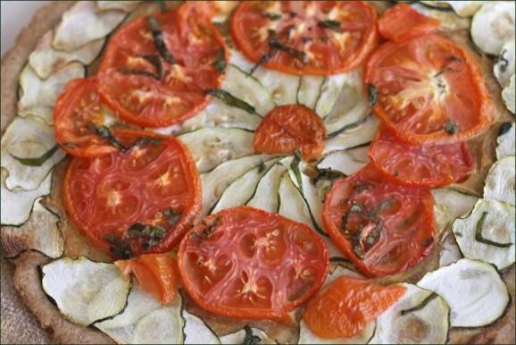Tarte aux légumes du soleil vegecarib1092