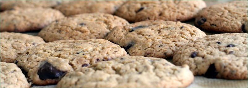 Les cookies  de Rose-citron (vegan)