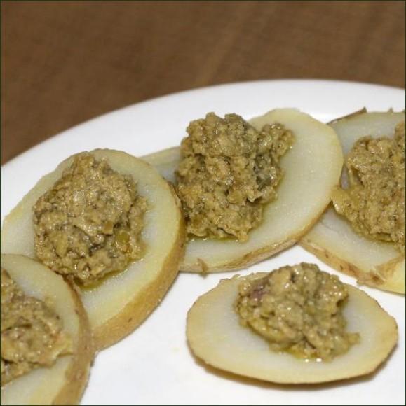 Tapenade d'olive verte (recette vegan) vegecarib 967