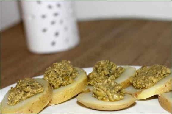 Tapenade d'olive verte (recette vegan) vegecarib 968