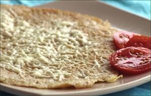 Kaas Pannenkoek (crêpes au fromage à la hollandaise) vegecarib1124